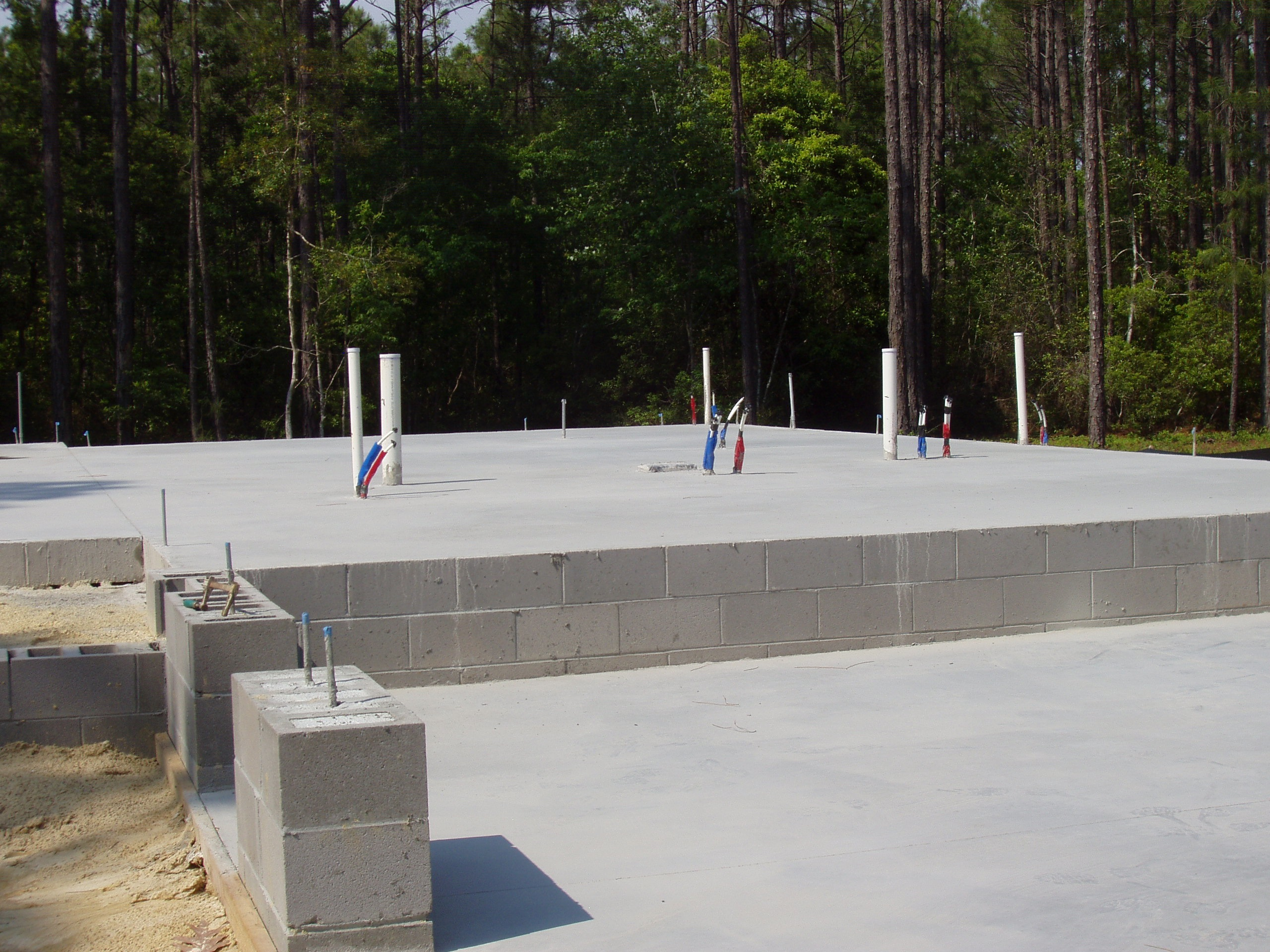 St james custom builder talks about slab foundations for House slab foundation
